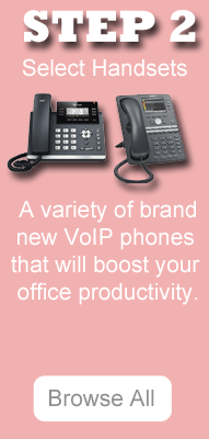 VoIP Handsets for cloud hosted solution