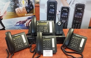 Panasonic NS700 phone system Digital Small Business Starter Pack