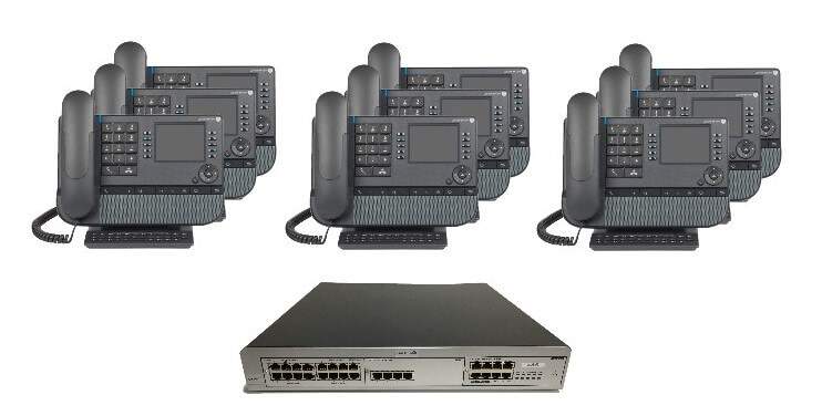 Alcatel Lucent OmniPCX IP Phone System 2