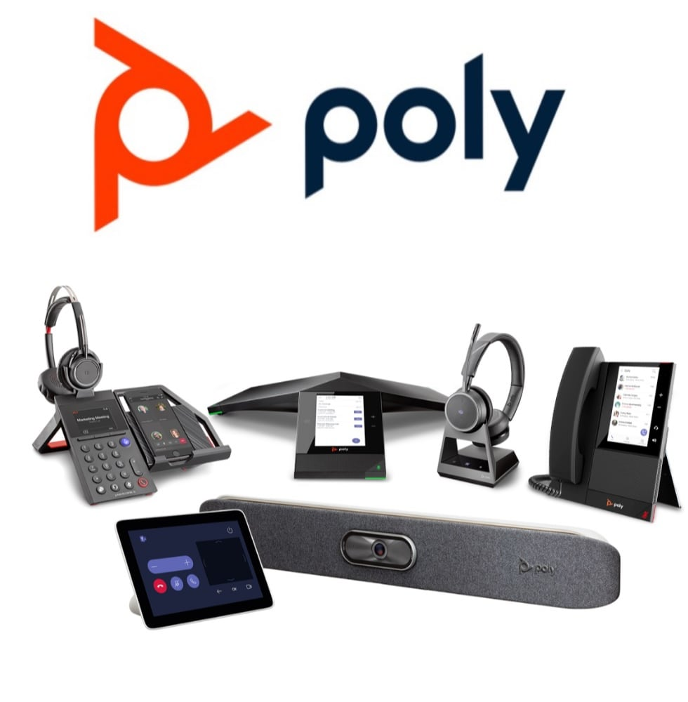 Poly equipment for Microsoft Teams