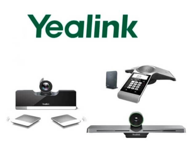 Yealink video conferencing equipment and hardware