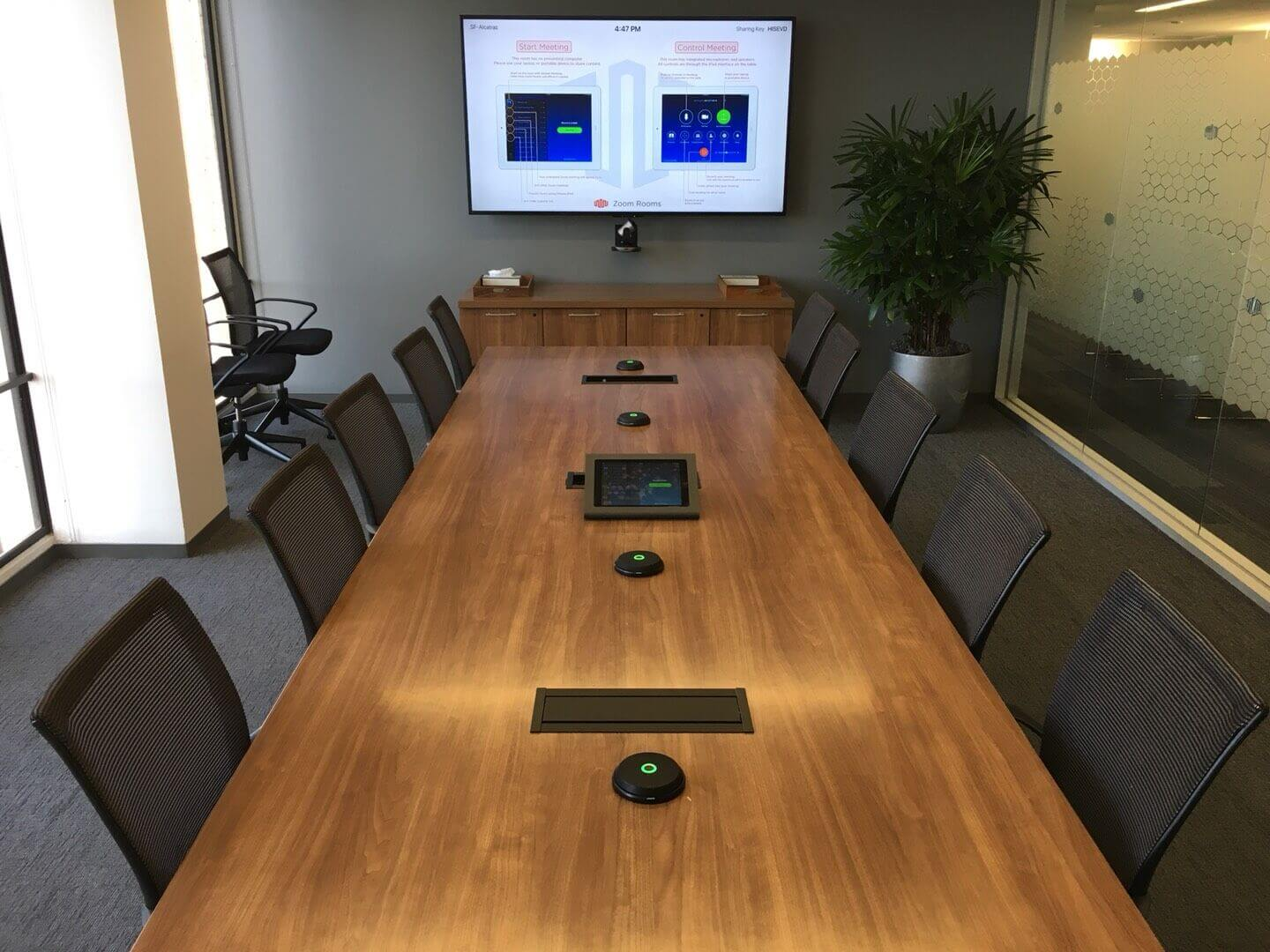 zoom vieo meeting room