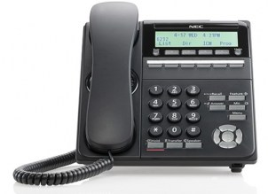 NEC DT920 6 button Phone Front View