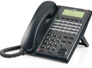 NEC IP4WW-60D DSS Console in Black IP4WW-60D DSS-B for SL1100 Series Handsets
